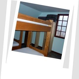 Deuxième chambre 1 er étage , 4 places
